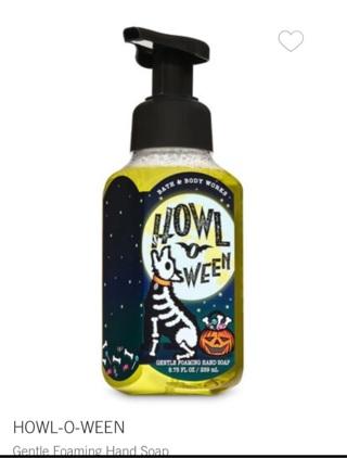 bath & body works Howl O Ween Hand Soap