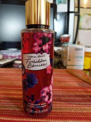 Victoria's Secret forbidden berries fragrance mist