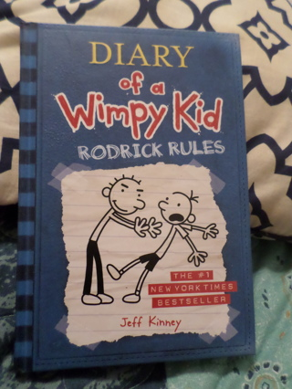 Diary Of A Wimpy Kid, Rodrick Rules Book