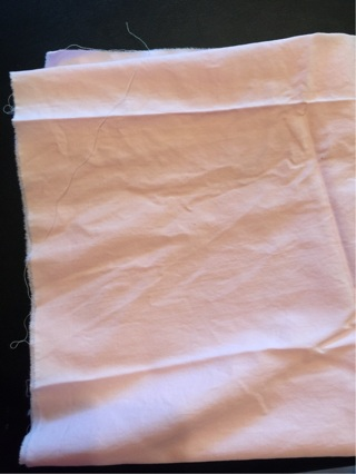 Very pale pink fabric