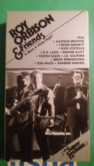 vhs roy orbison & friends free shipping