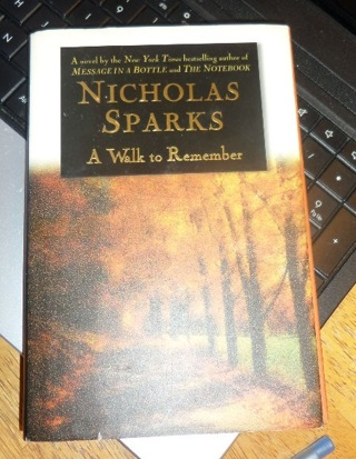 a walk to remember novel