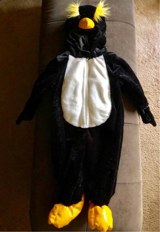 PENGUIN Costume Size 18 Months by Authentic Kids Costume