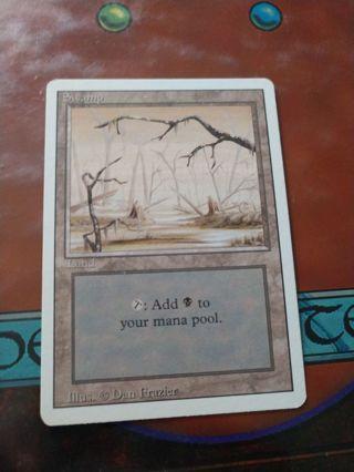 MTG Revised Swamp