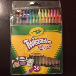 brand new crayola twistables 30 pack colored pencils - Crayola Colored Pencils Twistables