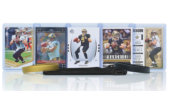 Brand New! Drew Brees Football Cards Assorted (5) Bundle - New Orleans Saints Trading Cards