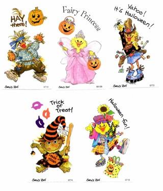 Halloween sticker Modules