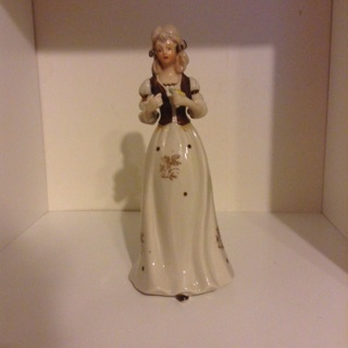 Antique Glass Doll