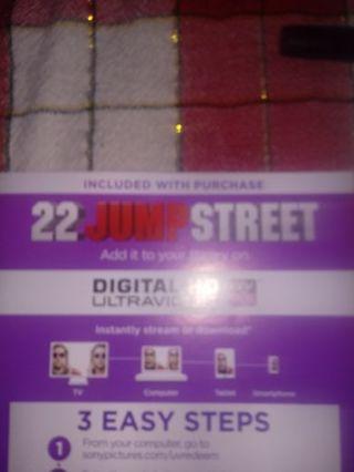 22Jump Street VUDU Code