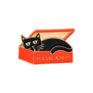 CAT PIN - PLEASE ADOPT