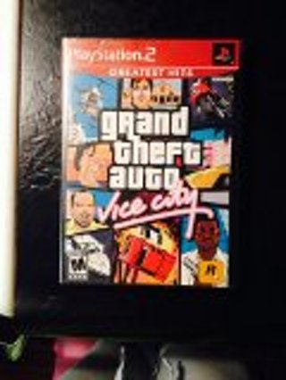 GRAND THEFT AUTO VICE CITY.. PLAYSTATION 2 GAME