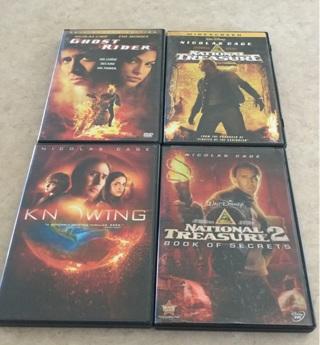 Nicolas Cage DVD Lot