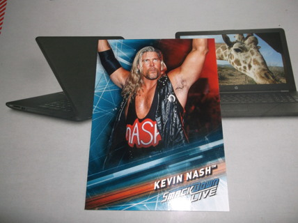 wwe  2019  topps    smack down  live   kevin  nash   card  #   79