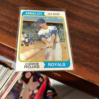 Free 1974 Topps Cookie Rojas Baseball Card Sports Trading