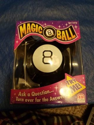Magic Eight Ball Toy (new in box)