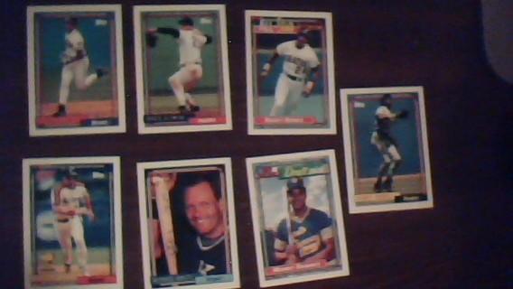 Superstar Baseball Cards
