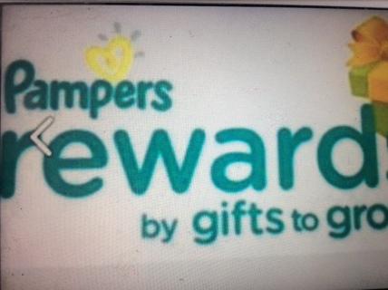 Pampers Rewards Code