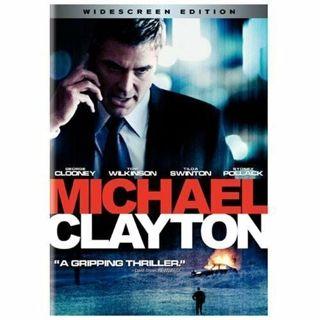 Michael Clayton, Wide Screen,DVD ⭐DISC ONLY ⭐George Clooney, Tilda Swinton