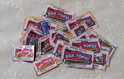 Box Tops for Education b.t.f.e. 20