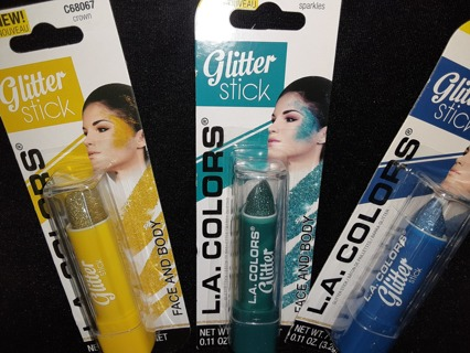 3 NEW Glitter Face Makeup Wear