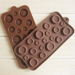 Button Baking Cake Chocolate Candy Jelly Ice Mold Silicone Mould
