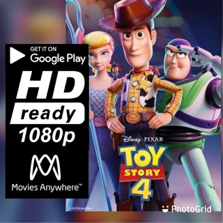 TOY STORY 4 HD GOOGLE PLAY CODE ONLY