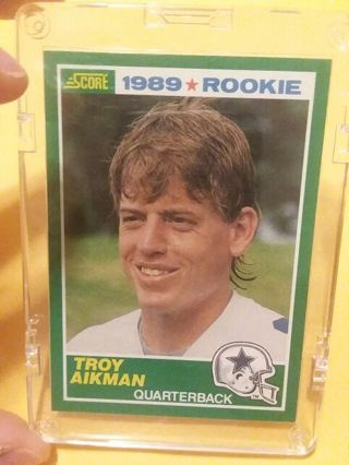 Free Troy Aikman Rookie Card Sports Trading Cards