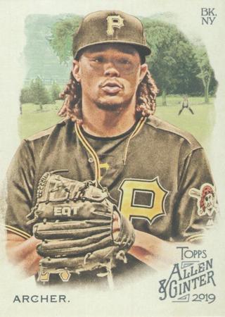 2019 Topps Allen & Ginter 85 Chris Archer - Pittsburgh Pirates