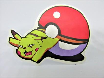 POKEMON Vinyl Sticker- Helmet/Car/Skateboard/Business/Crafts