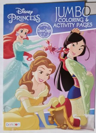 Disney Princess Coloring and Activity book