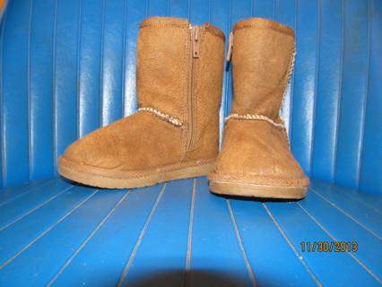 AIRWALK BOOTS~TODDLER GIRLS SIZE 6