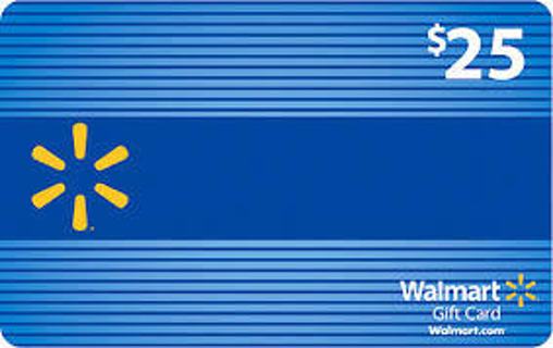 $25 walmart gift card fast delivery!
