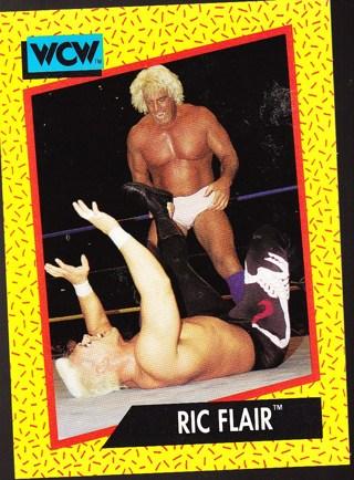 '91 wcw wrestling card ric flair
