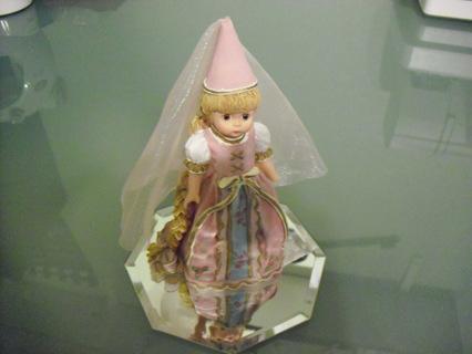 Ceramic Madame Alexander with Mirror Base