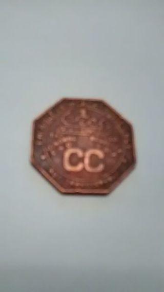 COAL MINE STORE TOKEN. CONSOLE COAL CO.. MONGA MINE. WV. (OLD)