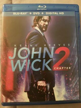 John Wick 2 Blue Ray Dic