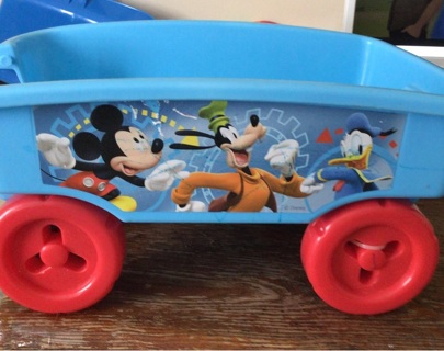 Mickey Mouse wagon