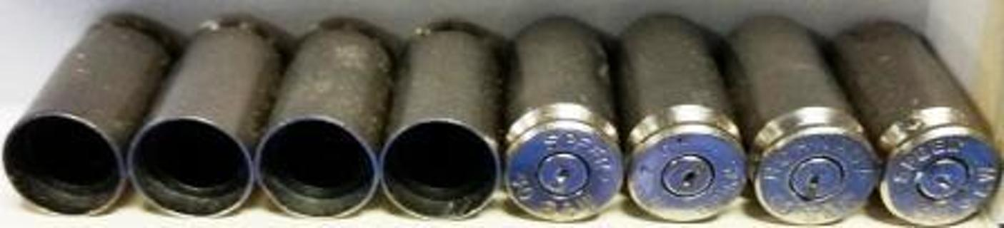 .40 Cal Bullet Casing Tire Valve Cap Covers - Set of 4