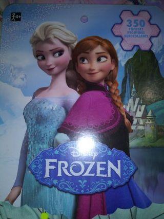 Disney frozen 350 pc 8 huge sticker sheets book Lowest deals No lower! Selling out deals!