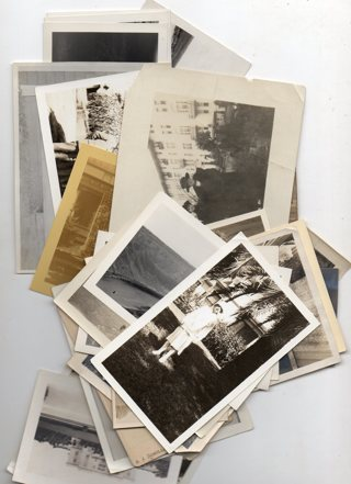 Lot of 10 Random Vintage B&W photos...Different sizes and topics