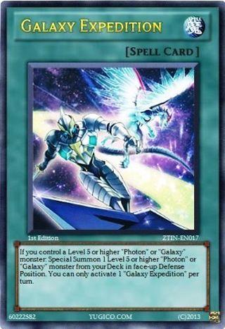 Galaxy Expedition - ZTIN-EN017 - Ultra Rare Yu-Gi-Oh! Promo Cards