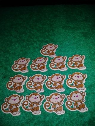 ❤✨❤✨❤️13 BRAND NEW MONKEY BUTTONS❤✨❤✨❤