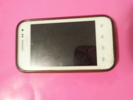 white s3 mini w/ case