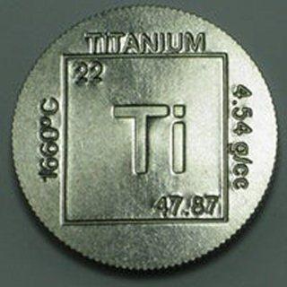 1 Ounce Titanium Round