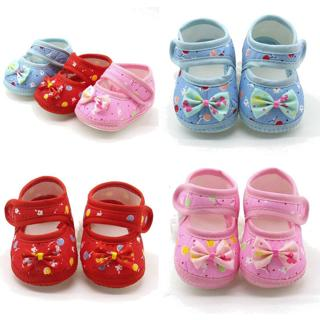Newborn Infant Baby Girl Casual Soft Sole Prewalker Cotton Warm Prewalker Shoes