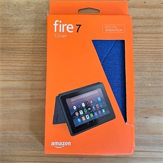 Brand New Original Amazon Fire 7 Tablet Case - Marine Blue
