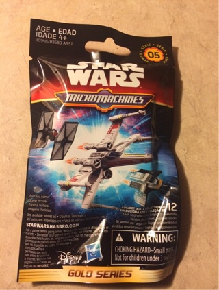 STARWARS MicroMachines series (5) Perfect size for Easter baskets!!