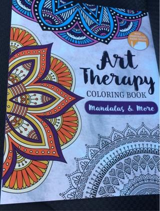 ART THERAPY COLORING BOOK MANDALAS MORE