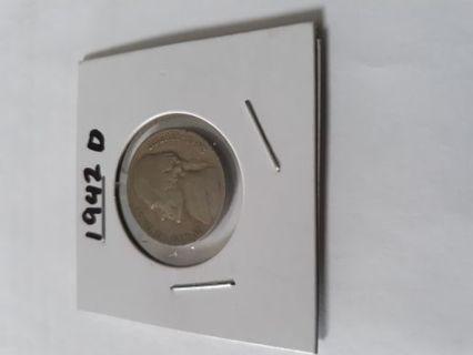 1942 D Jefferson Nickel