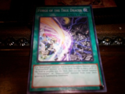 new yu-gi-oh forge of the true dracos spell card